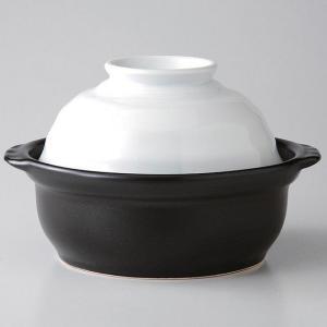 有田焼 電子レンジ IH 直火 オーブン対応 万能土鍋 すのこ付 ホワイト 1人〜2人用|niwa-company