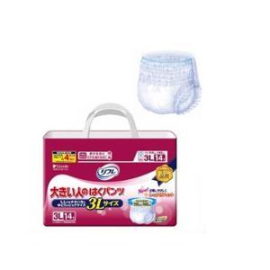 はくパンツ レギュラー 3L / 16568→17166 14枚×4袋|niwanolifecore