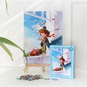 赤毛のアン イラストパズル 150ピース ブルー 285×210mm (絵:キム・ジヒョク) puzzle ANNE OF CLASSIC STORY|niyantarose