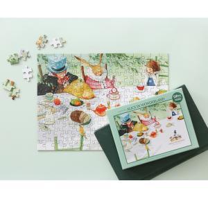 不思議の国のアリス  イラストパズル 150ピース  285×210mm (絵:キム・ミンジ)puzzle ALICE IN WONDERLAND|niyantarose
