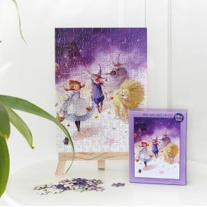 オズの魔法使い  イラストパズル 150ピース  285×210mm (絵:キム・ミンジ)puzzle ALICE IN WONDERLAND|niyantarose