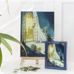 ピーターパン イラストパズル 150ピース  285×210mm (絵:キム・ミンジ) puzzle PETER PAN|niyantarose
