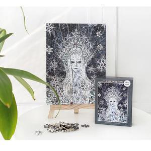雪の女王(アンデルセン物語) イラストパズル 150ピース 285×210mm (絵:ギュ・ハ) puzzle THE SNOW QUEEN|niyantarose