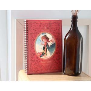 赤毛のアン「スプリングラインノート」(イラスト:キム・ジヒョク) 美しい古典シリーズ(188×256mm)|niyantarose