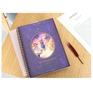 オズの魔法使い「スプリングラインノート」(イラスト:キム・ミンジ) 美しい古典シリーズ(188×256mm)|niyantarose