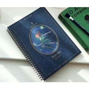 ピーターパン「スプリングラインノート」(イラスト:キム・ミンジ) 美しい古典シリーズ(188×256mm)|niyantarose
