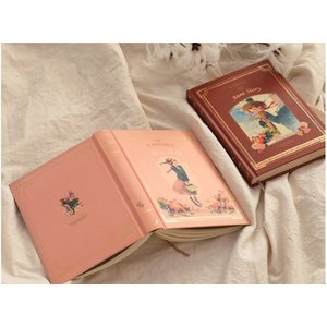 万年型(日付なし)2020 INDIGO ハードカバー ダイアリー 赤毛のアン ピンク(キム・ジヒョク:美しい古典シリーズ)2020 Anne Story Diary (undated) - Pink|niyantarose