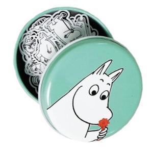 ムーミン ブックマーク しおり かわいい缶入り 15枚セット(韓国輸入品)|niyantarose