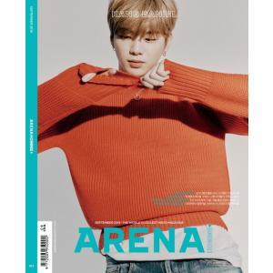 韓国 男性 雑誌 ARENA HOMME+(アリーナ・オム・プラス) 2019年 9月号 (カン・ダニエル表紙選択) 主要記事:カン・ダニエル