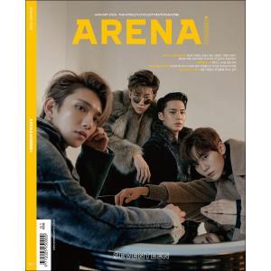 韓国 男性 雑誌 ARENA HOMME+(アリーナ・オム・プラス) 2020年 1月号 (SEVE...