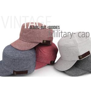 やわらかなベーシックカラー 軍帽  キャップ  帽子 男女共用|niyantarose