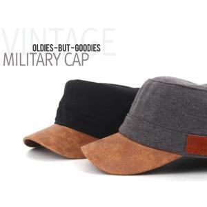 ブラウンがやさしい 軍帽 キャップ  帽子 男女共用|niyantarose