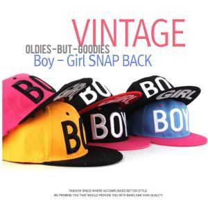 BOY GIRL スナップバック キャップ  帽子 男女共用 野球帽 MH20|niyantarose