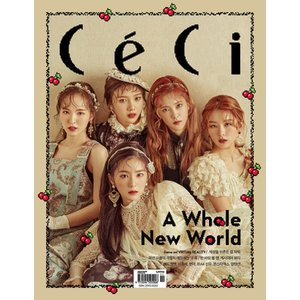 韓国女性雑誌 CeCi Another choice 2016年 11月号 (Red Velvet表紙/イ・ジョンソク、ヒョナ、B1A4のシヌ、MONSTA X、UP10TION記事)