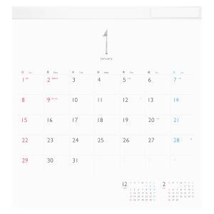 ほぼ日 ホワイトボード カレンダー 2017 フルサイズ 日曜はじまり