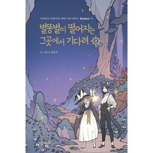 韓国語 まんが 『流れ星が落ちるそこで待ってて 2』 - ちょっと変わった美しい魔法の国の物語 Season 1 著:マンムルサン|niyantarose