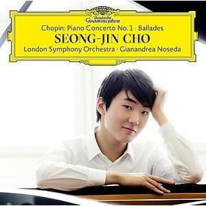韓国音楽 チョ・ソンジン - ショパン:ピアノ協奏曲第1番、バラード(通常版)|niyantarose