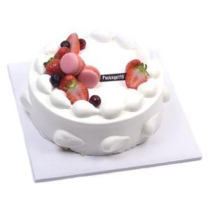 ケーキ 台紙 紙製トレイ/トレー ホワイト 四角 1号 (1枚) 20.3×20.3cm 高さ0.6cm|niyantarose