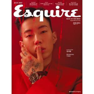 韓国男性雑誌 Esquire(エスクァイア)2017年 7月号 (パク・ジェボム表紙)|niyantarose