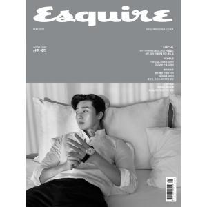 韓国男性雑誌 Esquire(エスクァイア) 2019年 5月号 (パク・ソジュン表紙/キム・ワンソン記事)|niyantarose