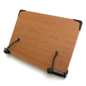 2017新モデル 見やすい角度に14段階調節 木製ブックスタンド 標準サイズ(35×24cm) 折りたたみ式 書見台 タブレット台 (メーカー直輸入品)|niyantarose