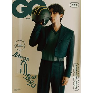 韓国 男性 雑誌 GQ(ジーキュー) 2020年 12月号 ピ(Rain)(チョン・ジフン)表紙 (...