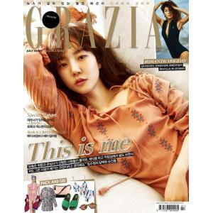 韓国芸能雑誌 GRAZIA(グラーツィア)2017年 7月号 (イム・スジョン表紙/イム・シワン、EXIDのハニ、ヒョナ、キム・ジソク記事)|niyantarose