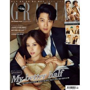 韓国芸能雑誌 GRAZIA(グラーツィア)2017年 9月号 (イ・ドンゴン&チョ・ユンヒ表紙/JJ PROJECT、NCT DREAM記事)|niyantarose