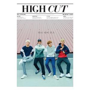 韓国芸能雑誌 HIGH CUT(ハイカット) 205号 (WINNER表紙/Wanna One、ナナ、今月の少女のヒジン&ハスル&ヒョンジン&ビビ記事)|niyantarose