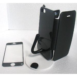ねこのアイフォンケース iMau アイマウ  iPhone 5 / 5s  ブラック|niyantarose