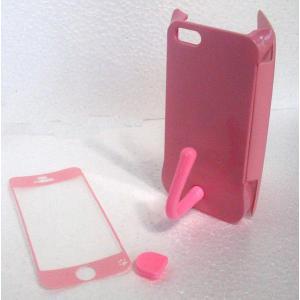 ねこのアイフォンケース iMau アイマウ  iPhone 5 / 5s  ベイビーピンク|niyantarose