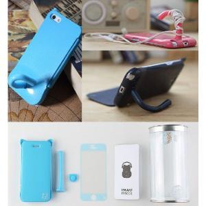 ねこのアイフォンケース iMau アイマウ  iPhone 5 / 5s  ホットピンク|niyantarose|04