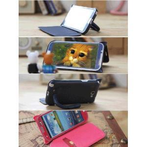 ねこのアイフォンケース iMau アイマウ  iPhone 5 / 5s  ホットピンク|niyantarose|06