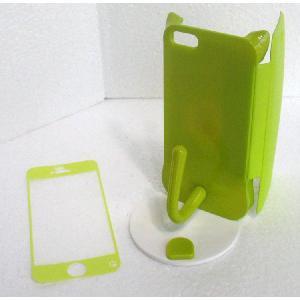 ねこのアイフォンケース iMau アイマウ  iPhone 5 / 5s  ライム|niyantarose