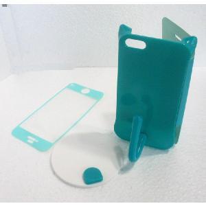 ねこのアイフォンケース iMau アイマウ  iPhone 5 / 5s  ミント|niyantarose