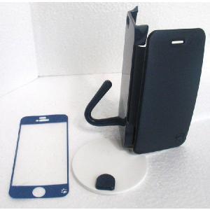 ねこのアイフォンケース iMau アイマウ  iPhone 5 / 5s  ネイビー|niyantarose