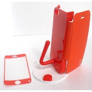 ねこのアイフォンケース iMau アイマウ  iPhone 5 / 5s  オレンジ|niyantarose