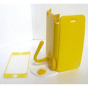 ねこのアイフォンケース iMau アイマウ  iPhone 5 / 5s  イエロー|niyantarose