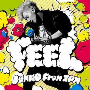 韓国盤  ジュノ(JUNHO From 2PM)「FEEL」 +ポスター丸めて筒入り。大切にお届け|niyantarose