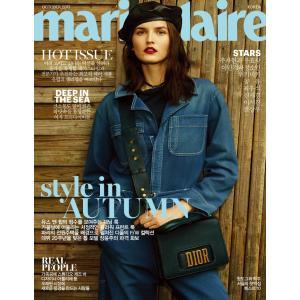 韓国女性雑誌 marie claire(マリ・クレール) 2017年 10月号 (イ・ミンギ&チョン・ソミン、コン・ユ、イ・ソジン、クォン・サンウ記事)|niyantarose