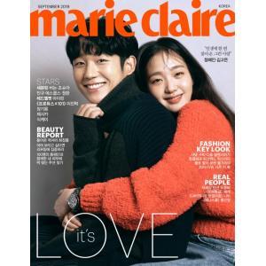 韓国 女性 雑誌 marie claire(マリ・クレール) 2019年 9月号 (チョン・ヘイン&キム・ゴウン表紙/イ・ジンヒョク、SEVENTEEN、アイリーン記事)