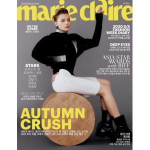 韓国 女性 雑誌 marie claire(マリ・クレール) 2019年 11月号 (NU'ESTのレン、TWICEのジョンヨンなど)