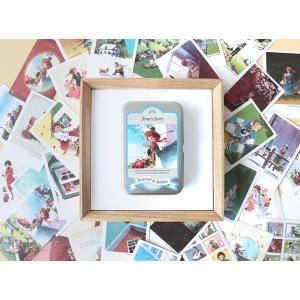 クラシックミニカード&ステッカー 赤毛のアン (イラスト:キム・ジヒョク)美しい古典シリーズ|niyantarose