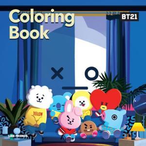 韓国語 ぬりえ本 『BT21 カラーリングブック』BT21 BTS & 防弾少年団|niyantarose