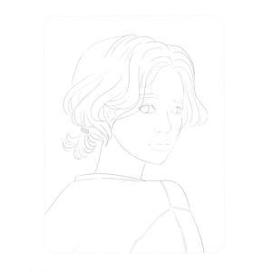 韓国語 ぬりえ本 『少女の時間 カラーリングブック - 視線を釘付け 魅力的な少女 40』 著:イ・ヒョンミ|niyantarose|14