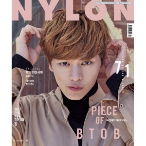 韓国女性雑誌 NYLON(ナイロン) 2017年 10月号 (BTOBのユク・ソンジェ表紙/HONEYST、IZ、THE ROSE、N.FLYING記事)|niyantarose