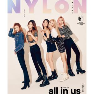 韓国女性雑誌 NYLON(ナイロン) 2019年 10月号 (ITZY表紙)ハニ、チョン・ジェウォン、楽童ミュージシャン、キム・ミンギュ、キム・ナヨン、イ・ナウ