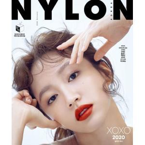 韓国 女性 雑誌 NYLON(ナイロン) 2020年 2月号 (EXIDのハニ表紙/Dynamic Duo、Crush、キム・ヘジュン、ほか記事)