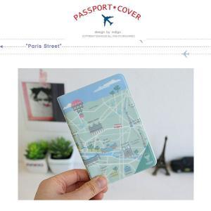 パスポートカバー パリ イラスト|niyantarose