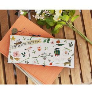 イラスト イン ペンケース たのしい川べ(花、鳥、植物)|niyantarose